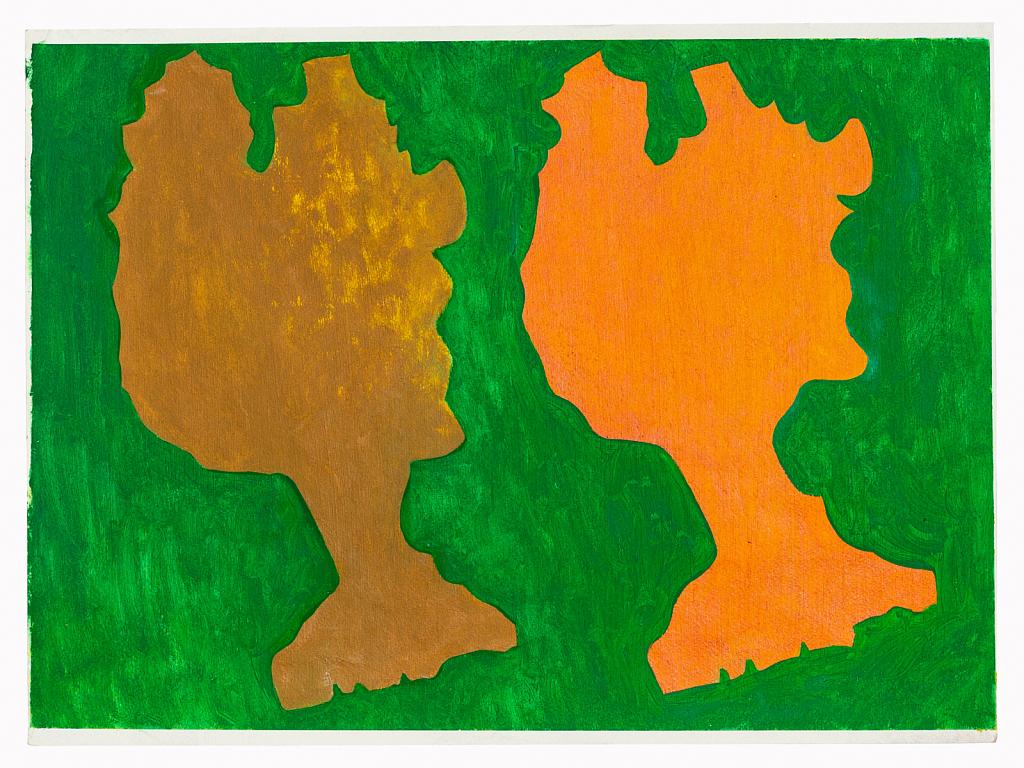 Trees (Orange and Green)