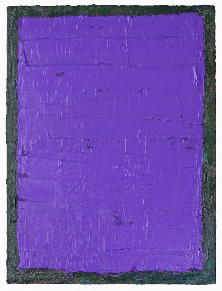 Purple with Green Border